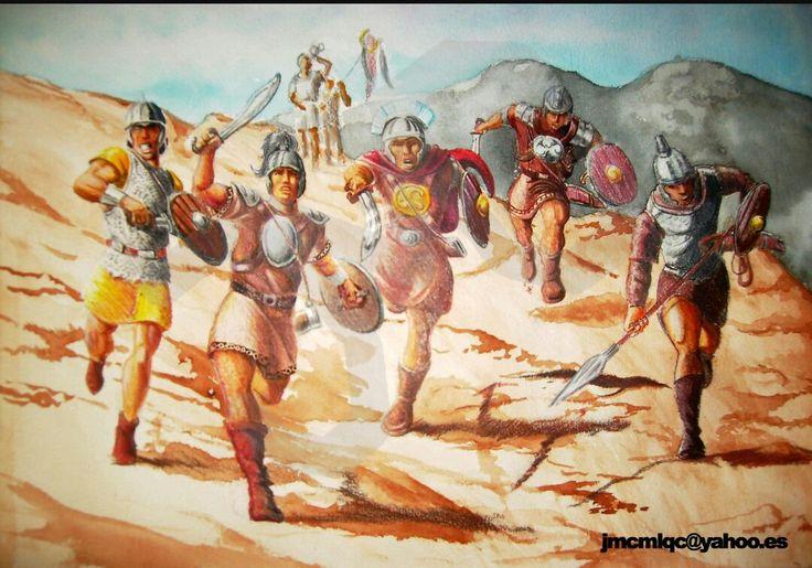 Infanteria íbera.