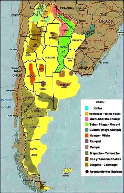 Los pueblos indígenas en Argentina; un poco de historia.   Por Matias Ludueña.