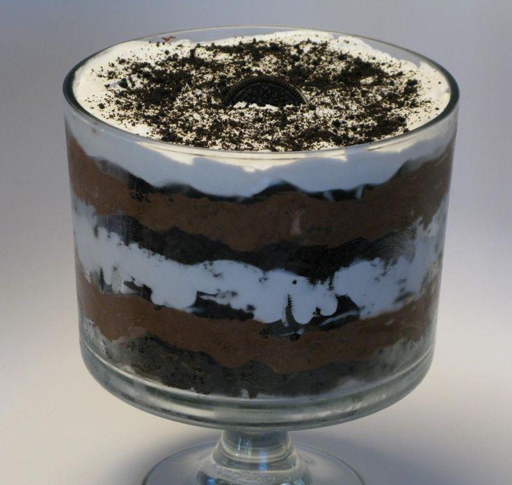 Oreo trifle, Trifles and Oreo on Pinterest