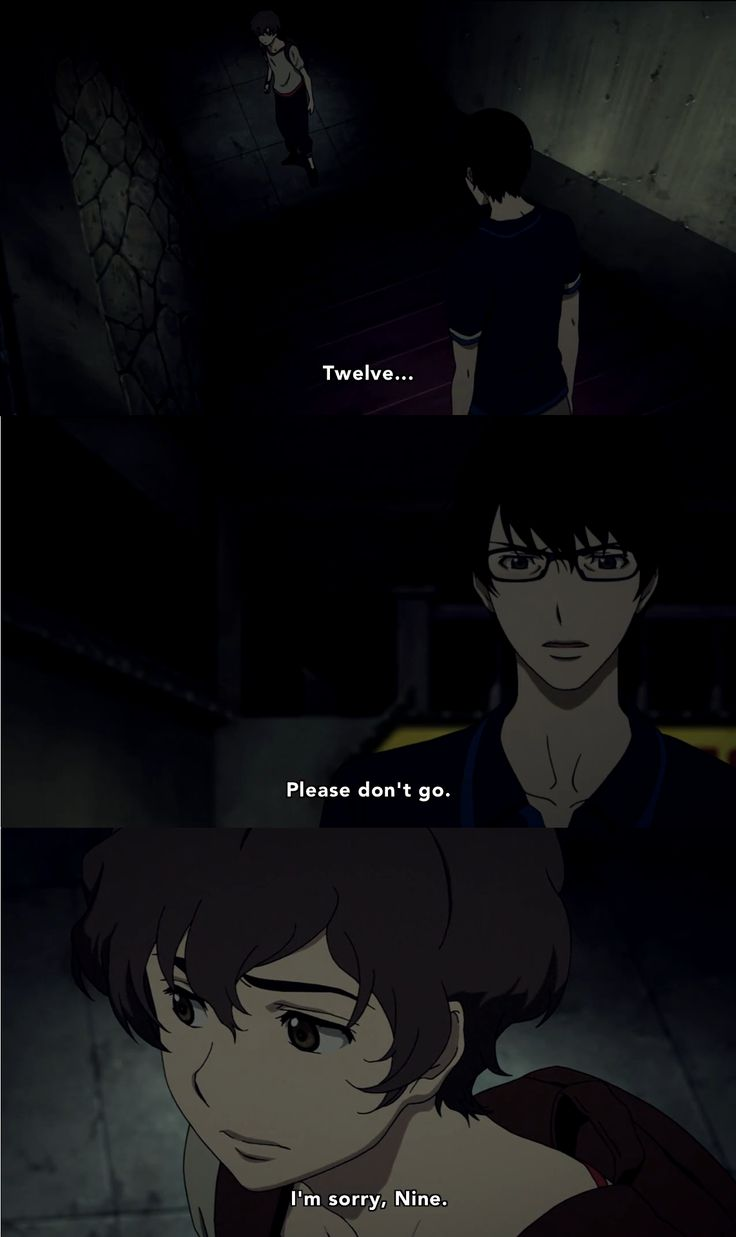 Terror in Resonance (Zankyou no Terror) - Nine and Twelve