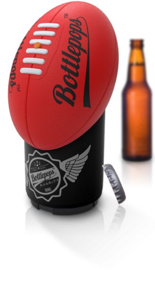 Bottlepops- the Sportsman's bottle opener! - White Apple Gifts