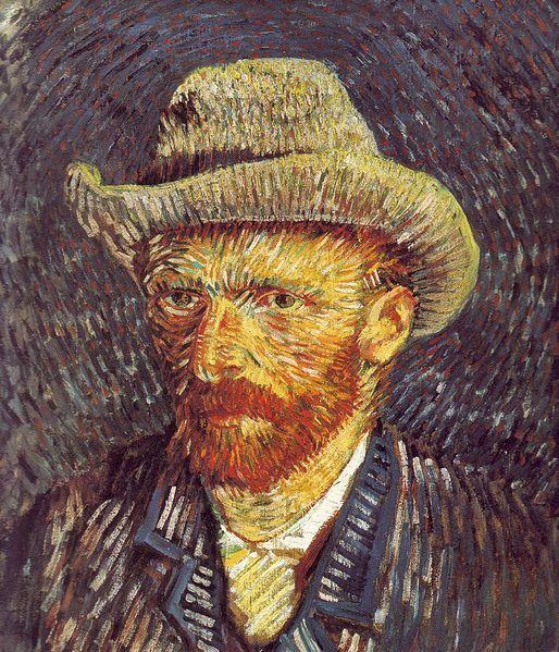 Self Portrait with felt Hat Vincent van Gogh Oil on Canvas, 1888 Van Gogh Museum