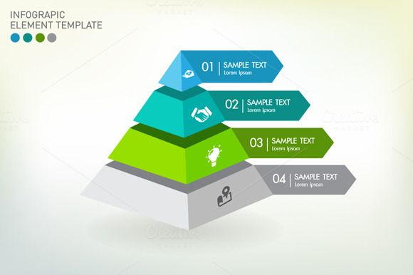 Vector infographic template by VL Shop on @creativemarket