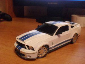 Ford Mustang Shelby GT500 KR paper model  292595320c