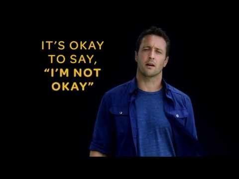 """♥♥♥♥♥  Alex O'Loughlin supports """"R U OK? DAY"""" 2013 - YouTube"""
