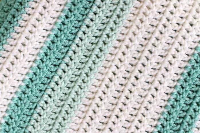 All Double Crochet Afghan Crochet For Beginners Blanket