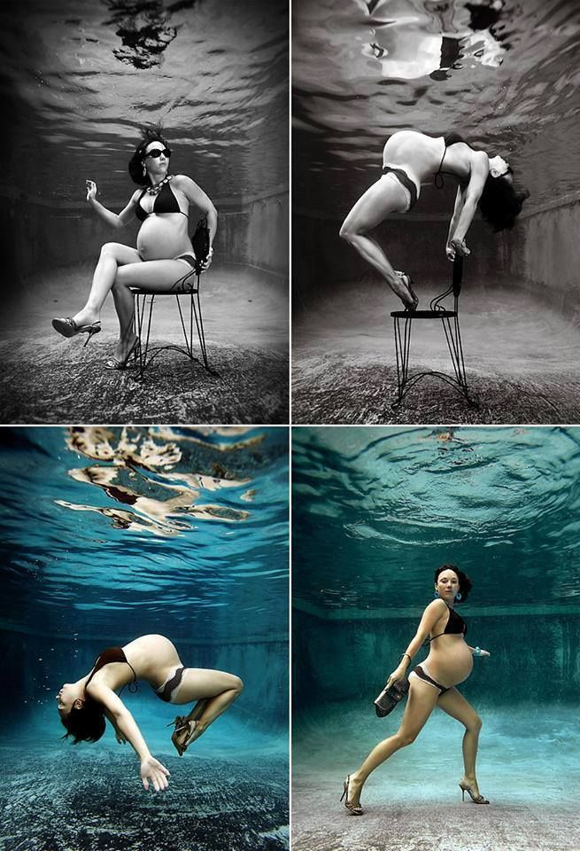 Underwater Photo Session by Kevin Beasley