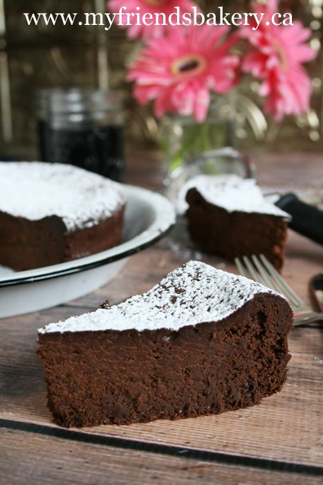 Flourless Chocolate Cake | My Friend's Bakery