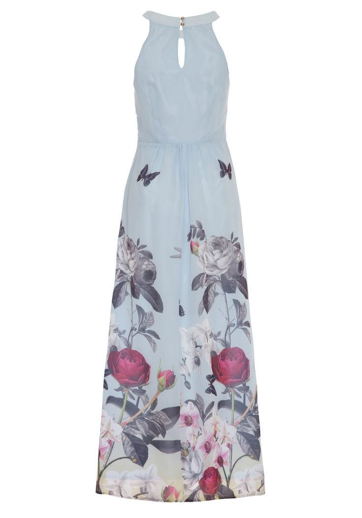 £75.00 Orchid Jardin Print Maxi Dress