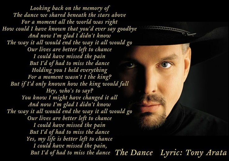 Songs by garth brooks lyrics