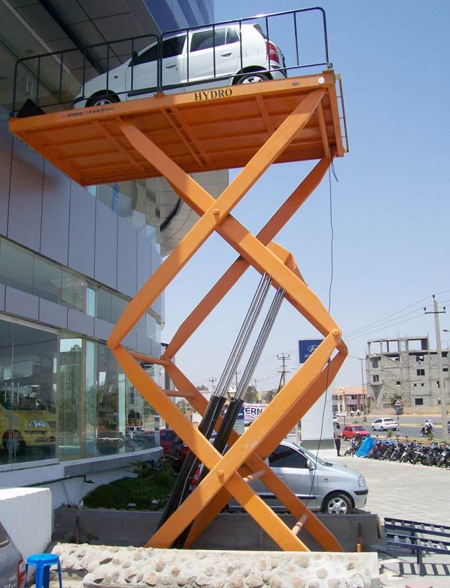 www.hydrofabs.com/hydraulic-car-lift.php - Hydraulic Car Lift Exporters, Suppliers & Manufacturers in India. Our product features are Robust construction, Easy to operate and install, Safe to use, Speedy installation, Very low maintenance.