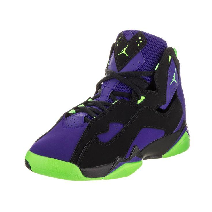 buy popular e1847 38723 ... jordan true flight bg purple and green Womens Air ...