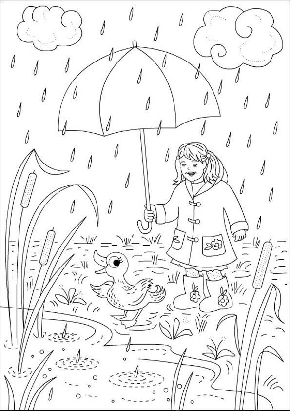 Happy Raining Coloring Pages Coloring Pages Witch Coloring Pages Printable Coloring Book