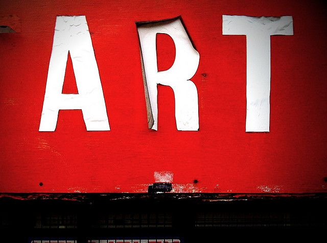 ARTWeb Design, Red Letters, Art Moving, Street Art, Words Art, Art Red, Typography Art, Art Art, Streetart