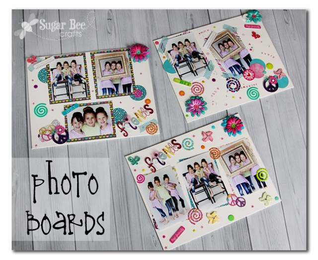 Sugar Bee Crafts: Photo Boards