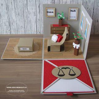 Geschenkbox Relax Sessel Sofa Überraschungsbox Explosionsbox Geldgeschenk Gutschein Möbel