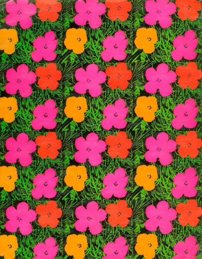 Andy WARHOL...Flowers
