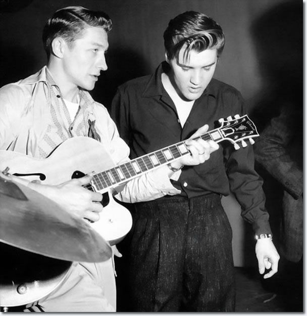 "Scotty Moore and Elvis Presley: Rehearsals ""The Milton Berle"" Show,  June 5, 1956."
