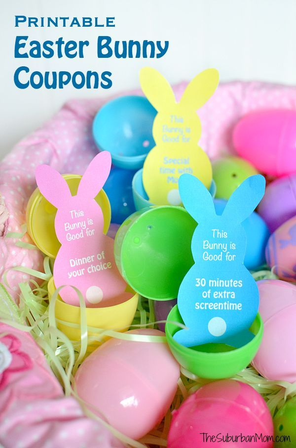 1460 best easter everything images on pinterest easter table printable easter egg fillers and easter basket ideas negle Gallery