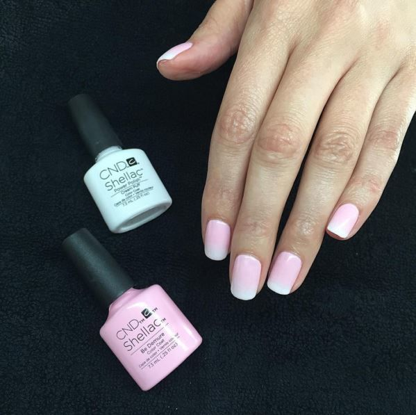 Pastel ombre nails using the shade Be Demure from the Flirtation Collection by Nail Pro, Anastassia Stjopkina (IG handle: auwki)!