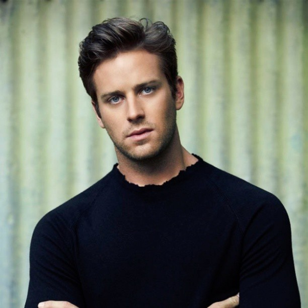 Arnie Hammer......let us all take a moment and appreciate how beautiful he is