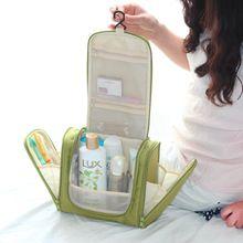 Waterdicht Mannen Opknoping Up Tas Nylon Travel Organizer Cosmetische Tas voor Vrouwen Grote Benodigdheden Make Up Case Wassen Toilettas(China (Mainland))