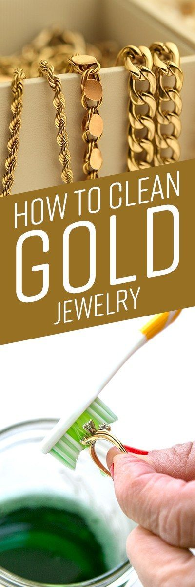 Gold does not tarnish like other metals, but over time, everyday dirt, grime, and accumulated oil from your skin can cause gold jewelry to lose its shine, causing it to look dingy and less lustrous. Many do-it-yourself (DIY) cleaners contain slightly abrasive ingredients, such baking soda, or harsh soaps and detergents. Safely restore the shine to precious rings, bracelets, necklaces and other gold jewelry.