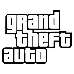 Grand Theft Auto logo series.svg