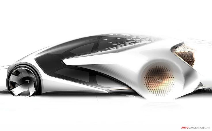 Futuristic Toyota Concept-i Unveiled at 2017 CES