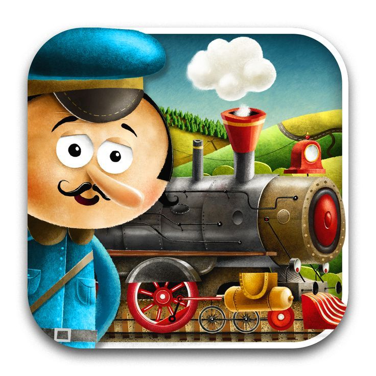 Did you tap this new app? It's the rock'n'rolling train! Locomotive by Tuwim for iPhone&iPad #locomotiveapp