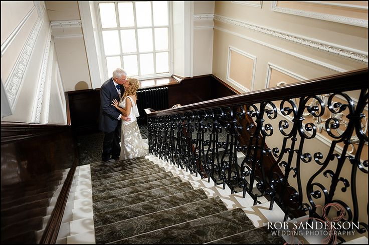 stylish wedding photo at Warrington Town Hall