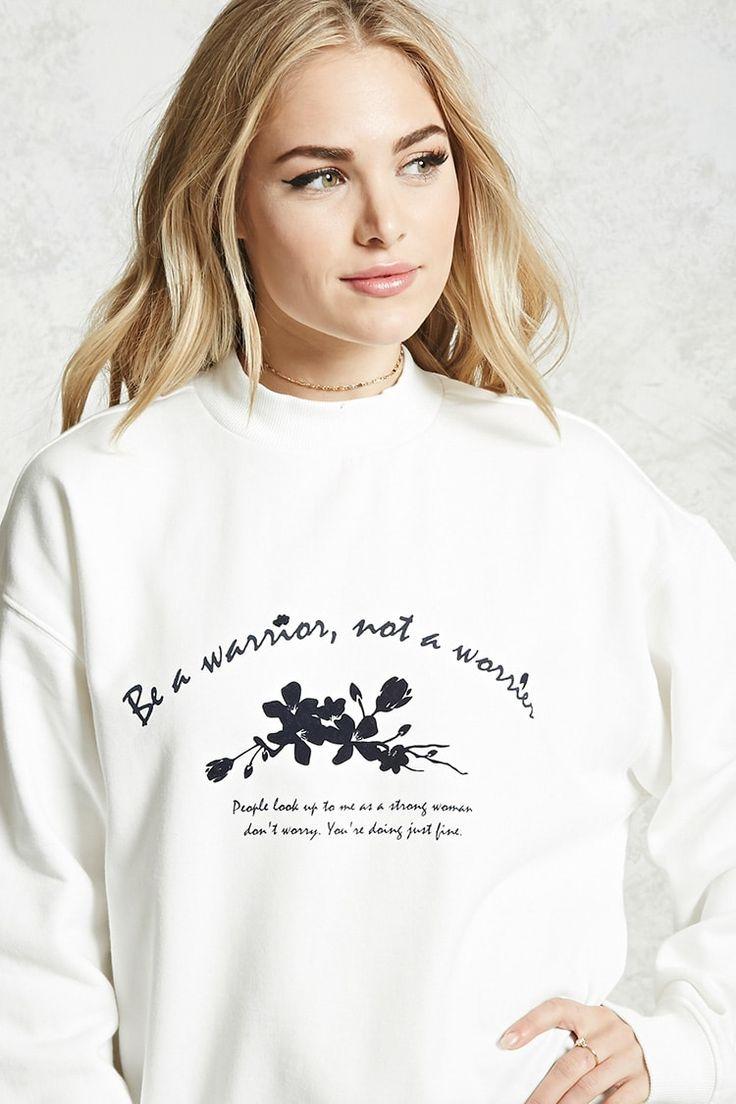 Contemporary Warrior Sweatshirt