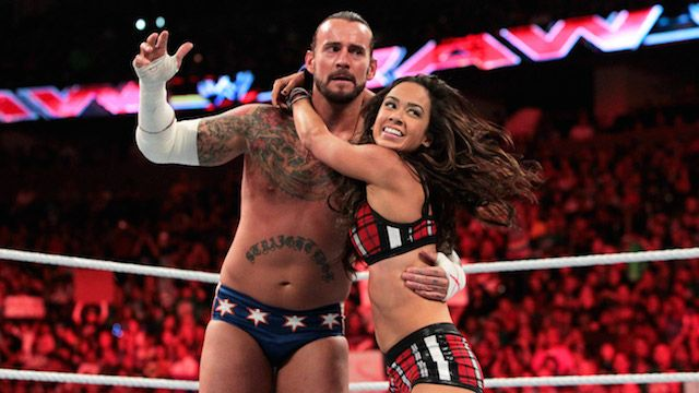 With the news of CM Punk and AJ Lee getting engaged, we decided to put together a collection of the happy couple's pictures