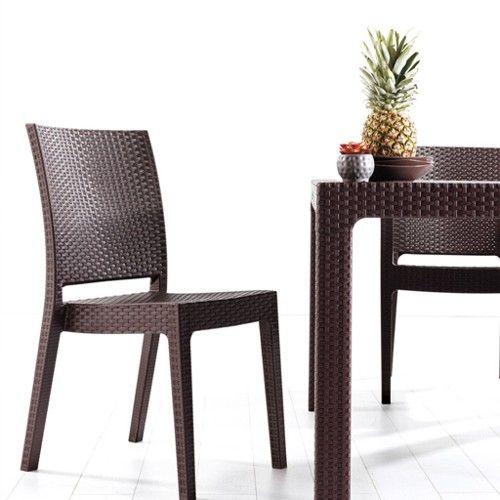 Novussi classi 90x90 rattan masa takimi (4 adet Novussi Nice rattan sandalye) ürünü, özellikleri ve en uygun fiyatların11.com'da! bahçe takımı kategorisinde! - Kargo ve KDV dahil 820 TL