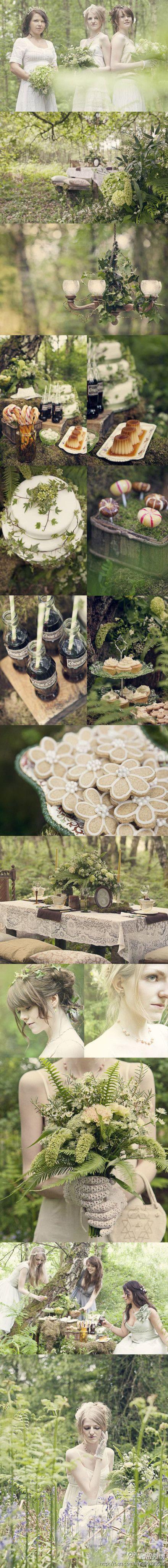 Share a forest department of wedding arrangement, return uncut jade to return true pure, like clean natural ~