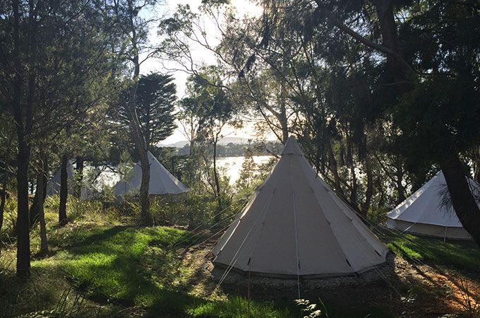 Romance and luxury in the heart of the Tasmanian countryside