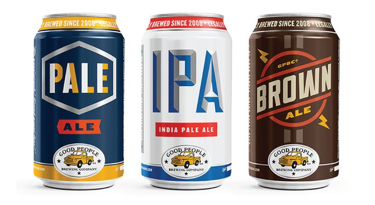 beer can packaging good people brewing company