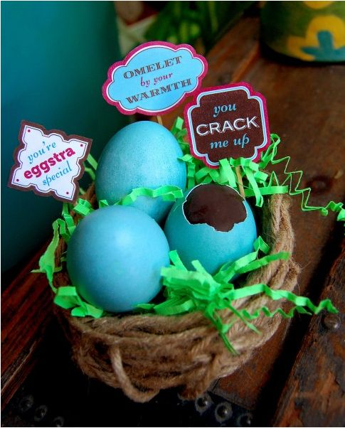 Printable Easter Egg Tags