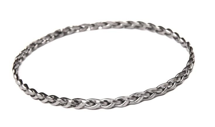 Sweet and simple  designer: jane kønig  silver bracelet.