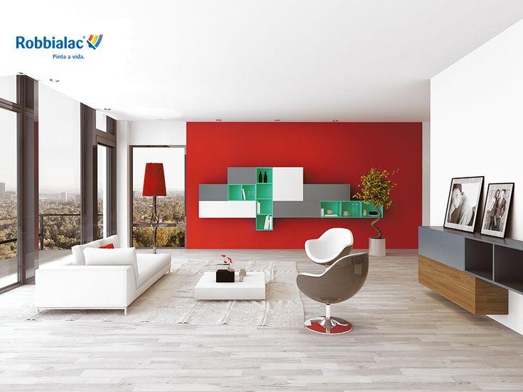 VERMELHOS - Cores deslumbrantes e intensas para combinações tonificantes que permitem criar ambientes com carácter e profundidade. Misturam-se com tons neutros para decorações sofisticadas.