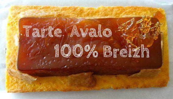 Tarte Avalo.cent pour cent breizh. cuisineaubeurresale