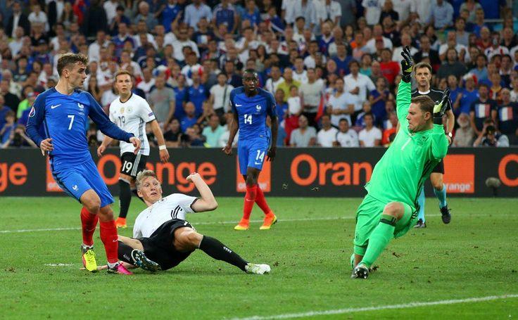 Antoine Griezmann second goal #EURO2016