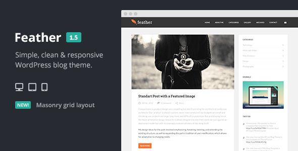 :: Miss Cloe's Blog :: Feather Clean Flat Responsive WordPress Blog Theme - Personal Blog / Magazine