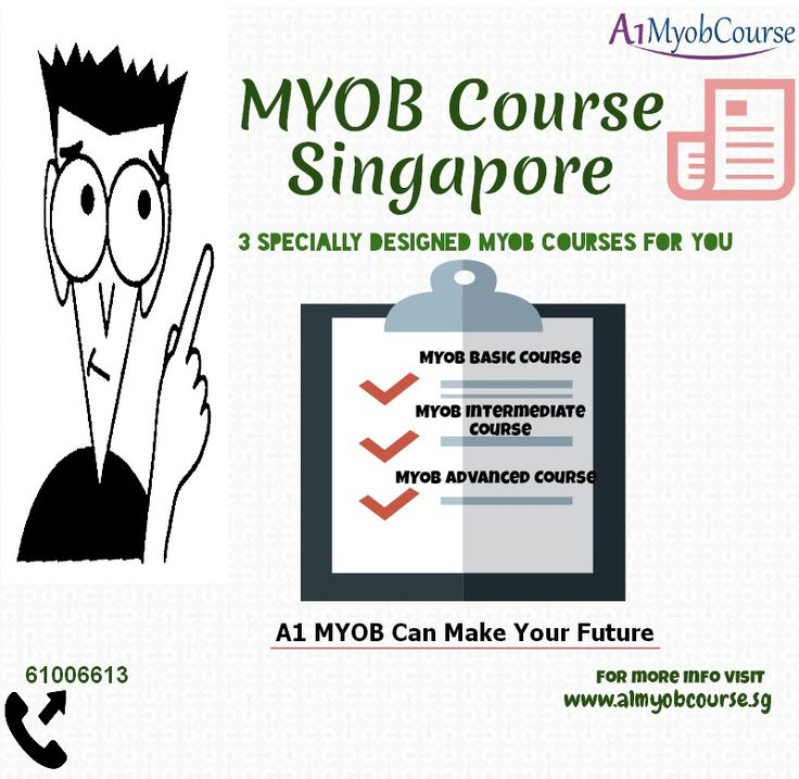 Are You Looking For #MYOB #Training in #Singapore. Then you must join A1MYOB Workshop.
