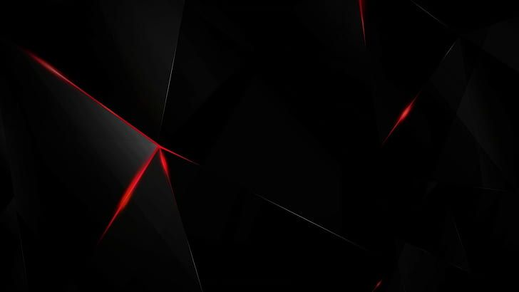 Dark 3d Red Shards Black Glass Abstract Hd Wallpaper In 2020 Red Wallpaper Apple Wallpaper Dark Wallpaper