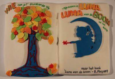 Creatieve duizendpoot: taart voor mijn dochters 8ste verjaardag.