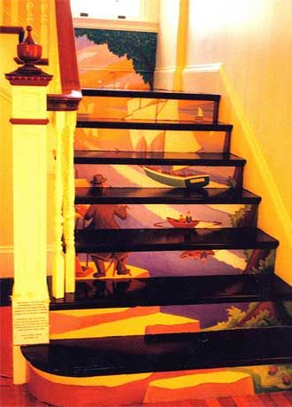91 Best Stair Risers Decorating Ideas Images On Pinterest | Home Ideas,  Ladders And Painted Staircases