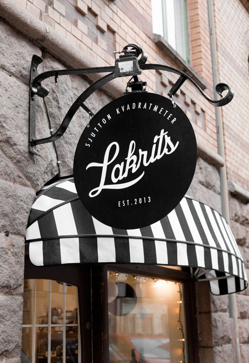 "Blog: Fine Little Day | picture of (the one and only) liquorice store in Gothenburg ""Sjutton kvadratmeter lakrits"""