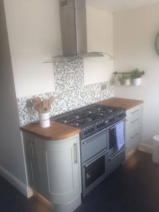 Paul's beautiful Wickes kitchen from the Tiverton range