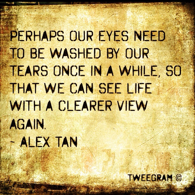 anew: Life Quotes, Inspiration, Cleaning, Heart Soul, Clearer View, Clear View, Word, Tears, Eye
